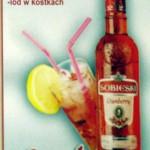 Drink Cranberry - wódka Sobieski